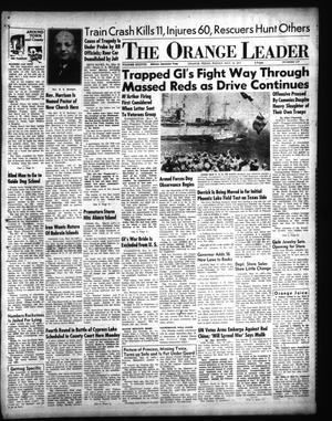 Primary view of object titled 'The Orange Leader (Orange, Tex.), Vol. 38, No. 117, Ed. 1 Friday, May 18, 1951'.