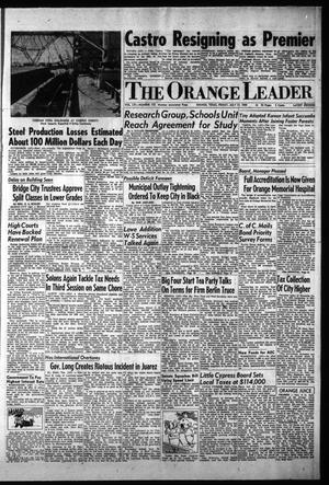 Primary view of object titled 'The Orange Leader (Orange, Tex.), Vol. 56, No. 172, Ed. 2 Friday, July 17, 1959'.