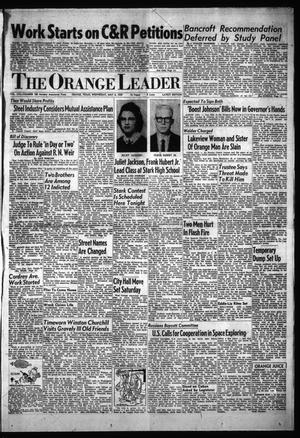 Primary view of object titled 'The Orange Leader (Orange, Tex.), Vol. 56, No. 108, Ed. 1 Wednesday, May 6, 1959'.
