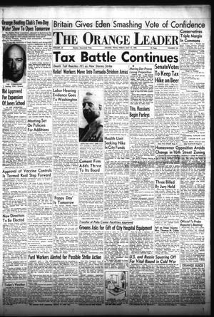 Primary view of The Orange Leader (Orange, Tex.), Vol. 52, No. 126, Ed. 1 Friday, May 27, 1955