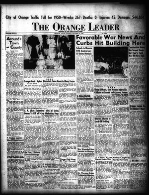 Primary view of object titled 'The Orange Leader (Orange, Tex.), Vol. 37, No. 260, Ed. 1 Sunday, October 22, 1950'.