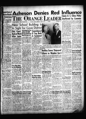Primary view of object titled 'The Orange Leader (Orange, Tex.), Vol. 38, No. 131, Ed. 1 Monday, June 4, 1951'.