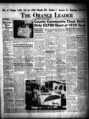 Primary view of object titled 'The Orange Leader (Orange, Tex.), Vol. 37, No. 295, Ed. 1 Sunday, December 3, 1950'.