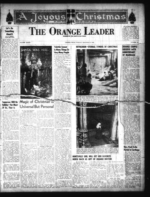 Primary view of object titled 'The Orange Leader (Orange, Tex.), Vol. 33, No. 303, Ed. 1 Tuesday, December 24, 1946'.