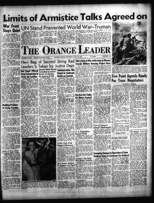 Primary view of object titled 'The Orange Leader (Orange, Tex.), Vol. 48, No. 176, Ed. 1 Thursday, July 26, 1951'.