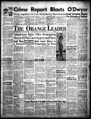 Primary view of object titled 'The Orange Leader (Orange, Tex.), Vol. 38, No. 102, Ed. 1 Tuesday, May 1, 1951'.
