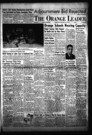 Primary view of The Orange Leader (Orange, Tex.), Vol. 52, No. 124, Ed. 1 Wednesday, May 25, 1955