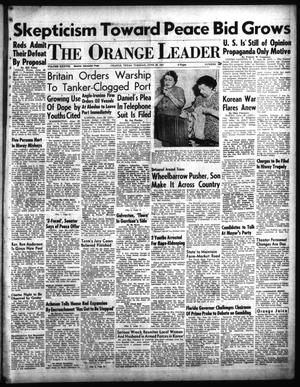 Primary view of object titled 'The Orange Leader (Orange, Tex.), Vol. 38, No. 150, Ed. 1 Tuesday, June 26, 1951'.