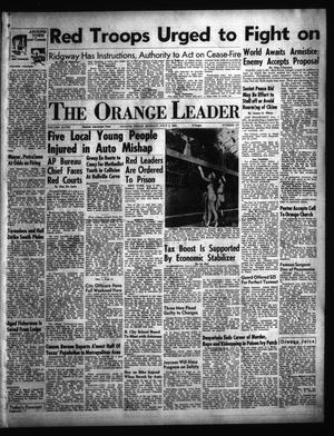 Primary view of object titled 'The Orange Leader (Orange, Tex.), Vol. 48, No. 153, Ed. 1 Monday, July 2, 1951'.