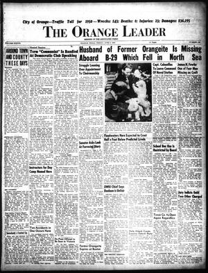 Primary view of object titled 'The Orange Leader (Orange, Tex.), Vol. 37, No. 138, Ed. 1 Friday, June 9, 1950'.