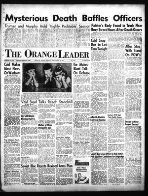Primary view of object titled 'The Orange Leader (Orange, Tex.), Vol. 48, No. 297, Ed. 1 Sunday, December 16, 1951'.