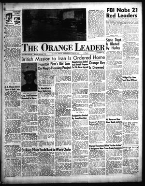 Primary view of object titled 'The Orange Leader (Orange, Tex.), Vol. 38, No. 145, Ed. 1 Wednesday, June 20, 1951'.