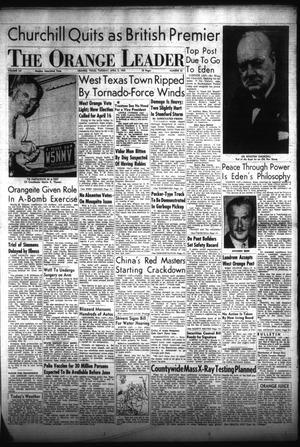 Primary view of The Orange Leader (Orange, Tex.), Vol. 52, No. 81, Ed. 1 Tuesday, April 5, 1955
