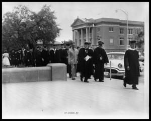 Primary view of object titled 'HSU Graduation, Professors March'.