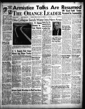 Primary view of object titled 'The Orange Leader (Orange, Tex.), Vol. 48, No. 166, Ed. 1 Sunday, July 15, 1951'.
