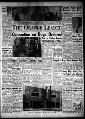 Primary view of object titled 'The Orange Leader (Orange, Tex.), Vol. 52, No. 43, Ed. 1 Sunday, February 21, 1954'.