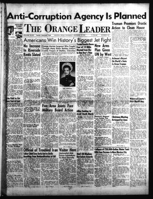 Primary view of object titled 'The Orange Leader (Orange, Tex.), Vol. 48, No. 295, Ed. 1 Thursday, December 13, 1951'.