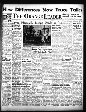 Primary view of object titled 'The Orange Leader (Orange, Tex.), Vol. 48, No. 281, Ed. 1 Tuesday, November 27, 1951'.