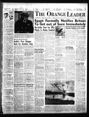Primary view of object titled 'The Orange Leader (Orange, Tex.), Vol. 48, No. 255, Ed. 1 Sunday, October 28, 1951'.