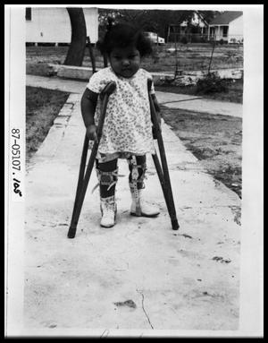 Primary view of object titled 'Child on Crutches'.