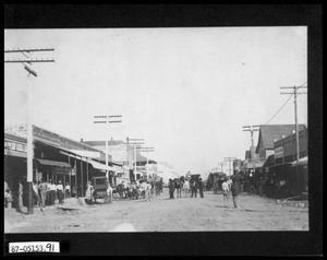 Primary view of object titled 'Downtown Street Scene'.
