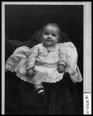 Primary view of object titled 'Portrait of Unknown Baby'.