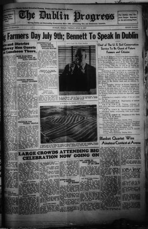 Primary view of The Dublin Progress (Dublin, Tex.), Vol. 49, No. 21, Ed. 1 Friday, July 2, 1937