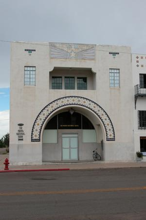 The Marfa National Bank building