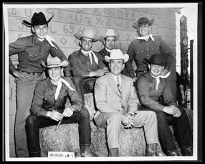 Primary view of object titled 'HSU Rodeo Team'.