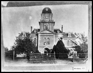 Primary view of object titled 'Building Exterior, Old Taylor County Courthouse'.