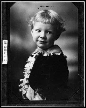 Primary view of object titled 'Portrait of Child'.