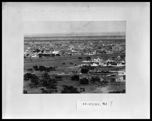 Primary view of object titled 'View of City'.