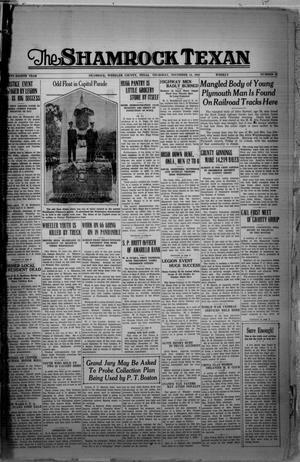 The Shamrock Texan (Shamrock, Tex.), Vol. 28, No. 43, Ed. 1 Thursday, November 12, 1931