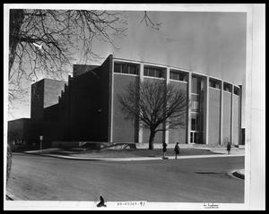 Primary view of object titled 'Behren's Auditorium at Hardin-Simmons University'.