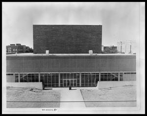 Primary view of object titled 'Van Ellis Theater'.