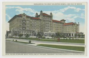 Primary view of object titled '[Postcard of Hotel Galvez 2]'.