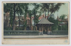 Primary view of object titled '[Postcard of 'The Little Church Around The Corner' in New York]'.
