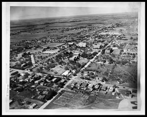 Primary view of object titled 'Aerial View of HSU Campus'.