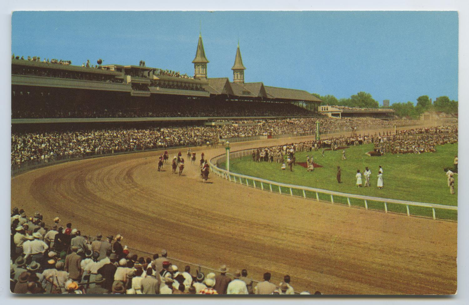 [Postcard of Kentucky Derby]                                                                                                      [Sequence #]: 1 of 2