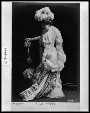 Primary view of object titled 'Postcard of Lady'.
