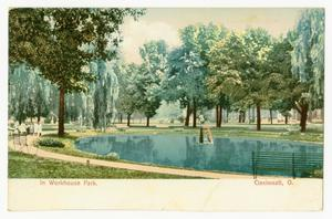 Primary view of [Postcard of the Workhouse Park]