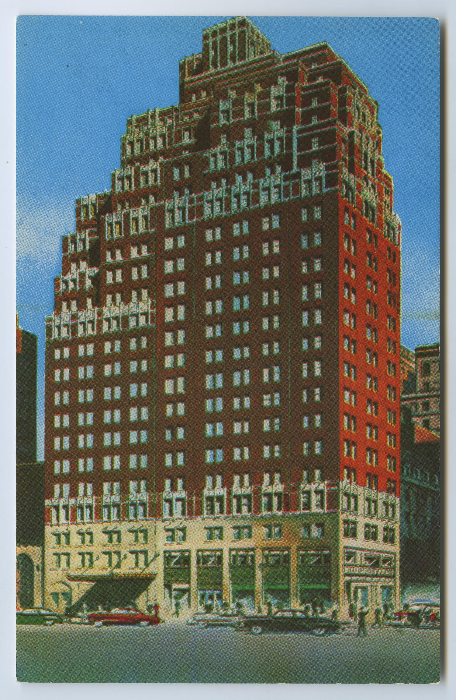 [Postcard of Hotel New Weston]                                                                                                      [Sequence #]: 1 of 2