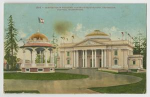 Primary view of object titled '[Postcard of Oregon State Building]'.
