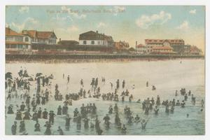 Primary view of object titled '[Postcard of Reheboth Beach]'.