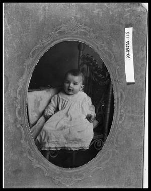 Primary view of object titled 'Portrait of Infant'.