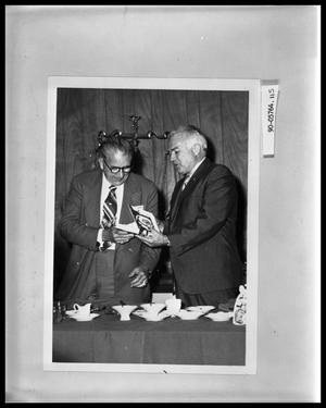 Primary view of object titled 'Two Men at Luncheon'.