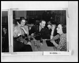 Primary view of object titled 'Couples at Military Club'.