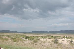 Primary view of object titled 'West Texas vista, 40 mi. N of Alpine on Hwy 67'.