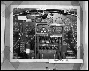 Primary view of object titled 'Interior Cockpit of Boeing B-17 Plane'.