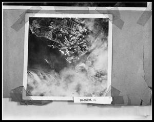 Primary view of object titled 'Aerial Bombing Photo'.